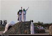 بازسازی واقعه غدیرخم در قشم به روایت تصویر