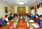 دیدار سفیر رژیم صهیونیستی در قزاقستان با استاندار آقملا