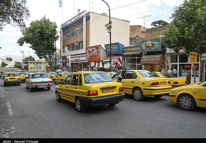اعلام سهمیه بنزین تاکسیهای درون شهری و بین شهری/ دوگانه سوز بین شهری 450 لیتر و تکسوز 750 لیتر