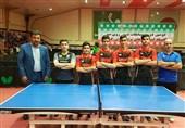 قهرمانی تهران و ثبت رکورد در مسابقات تنیس روی میز المپیاد استعدادهای برتر