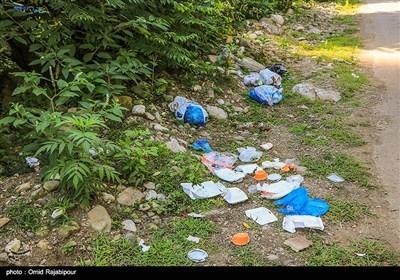 آلودگی محیط زیست در مسیر مسافران تابستانی گیلان- اخبار استانها