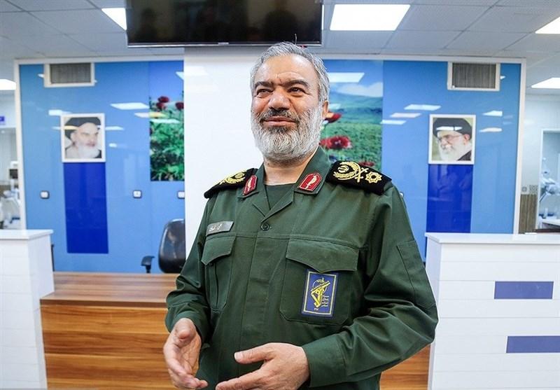 واکنش سردار فدوی به حضور ناوهای خارجی در خلیج فارس؛ آمریکا و همپیمانانش فقط ناامنی ایجاد میکنند
