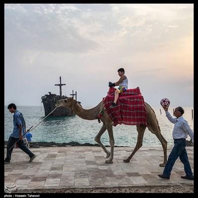 بدون مسافران تابستانی در کیش