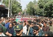 مازندران| پیکر شهید صدرایی در سوادکوه گرفت