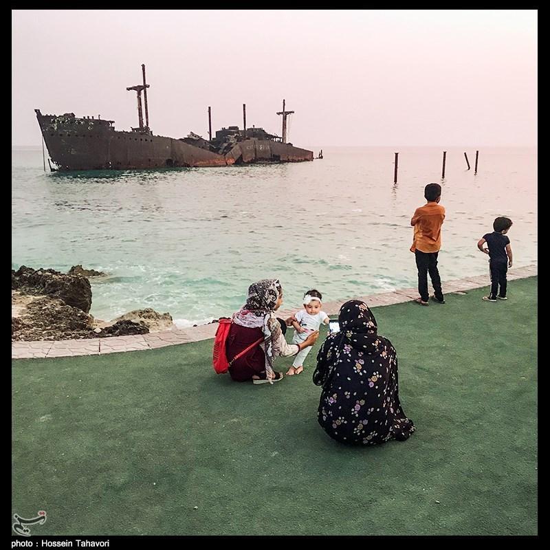 مسافران تابستانی در کیش- اخبار تلفن همراه
