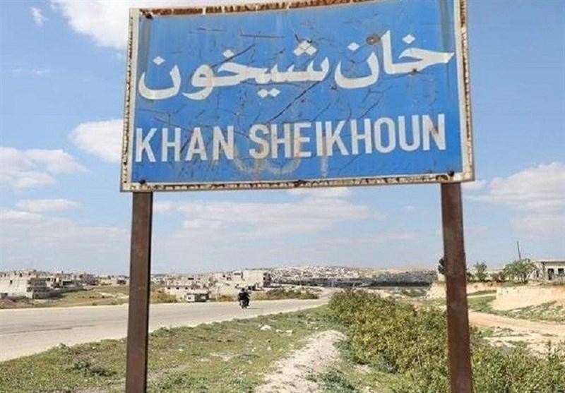 سوریه|کشف یک غار متعلق به تروریستها در خان شیخون