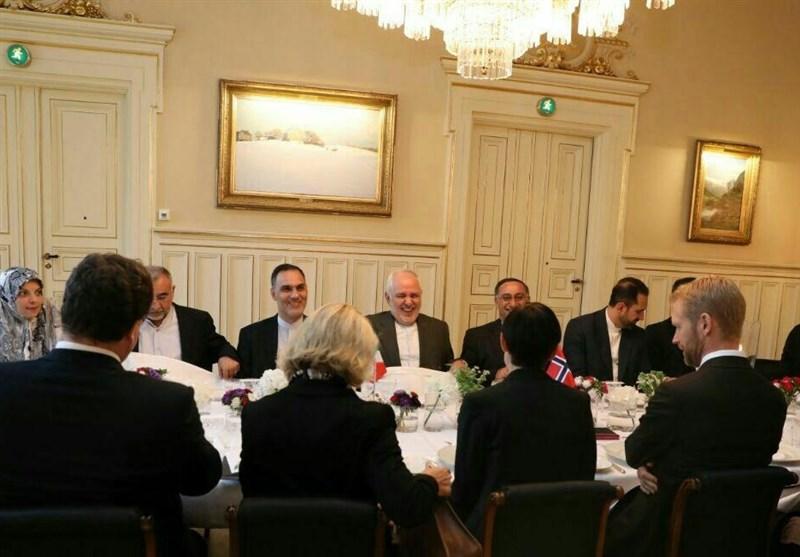 دیدار وزرای خارجه ایران و نروژ در اسلو