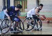 پیروزی تیم بسکتبال با ویلچر ایثار شیمیدر قم برابر حریف آملی