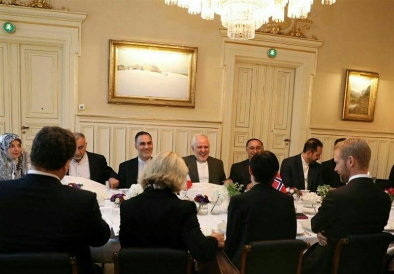 Iranian Top Diplomat Meets Norwegian Counterpart, MP