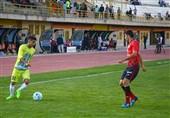 لیگ برتر فوتبال| تساوی یک نیمهای گلگهر و نساجی