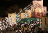 ایستگاه صلواتی به مناسبت عید غدیرخم + عکس و فیلم