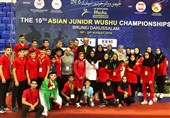 ووشو قهرمانی جوانان آسیا| جوانان ایران نایب قهرمان آسیا شدند