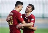 لیگ برتر فوتبال| برتری شهر خودرو مقابل شاهین شهرداری در نیمه اول