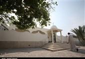 معماری خاص مساجد کیش در قاب تصویر