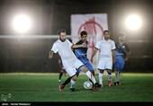 دیدار دوستانه تیمهای فوتبال عکاسان ایران و منتخب پرشین