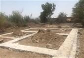 ساخت مسکن برای سیلزدگان سوسنگرد توسط قرارگاه جهادی حضرت ابالفضلالعباس