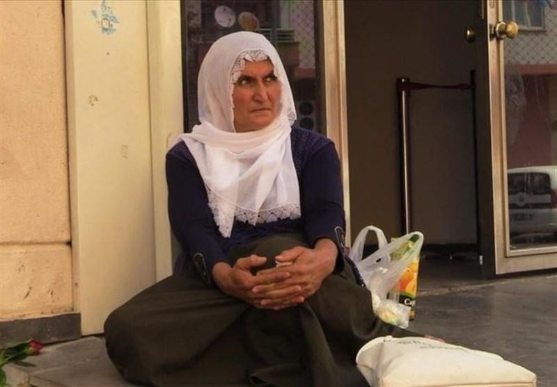 تحصن یک مادر کُرد در ترکیه علیه پ.ک.ک