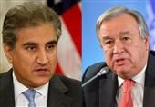 مسئلہ کشمیر: پاکستانی وزیر خارجہ کا اقوام متحدہ کے سیکریٹری جنرل سے ٹیلی فونک رابطہ