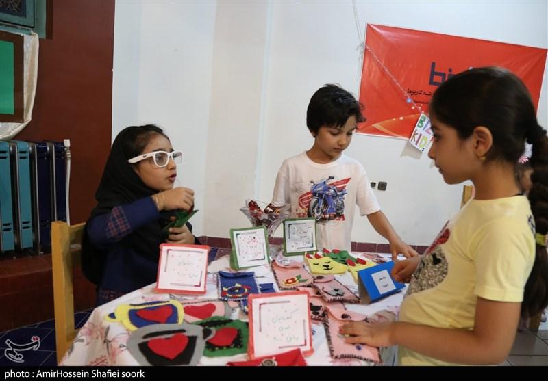 دومین نمایشگاه کودک و نوجوان کارآفرین در یزد به روایت تصویر