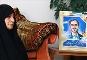 مادر شهید شهریاری دار فانی را وداع گفت