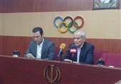 سجادی: فوتبال برای ما مانند سایر رشتهها است/ نگران تعداد سهمیههای کسب شده نیستم/ هدف ما ارتقای جایگاه المپیک ریو است