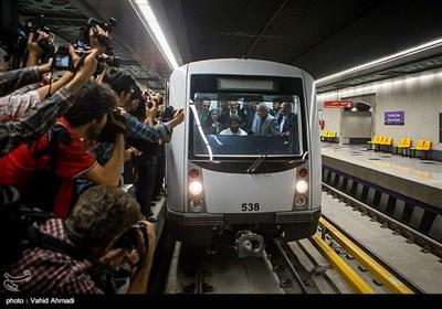 افتتاح ایستگاه میدان محمدیه در خط 7 مترو
