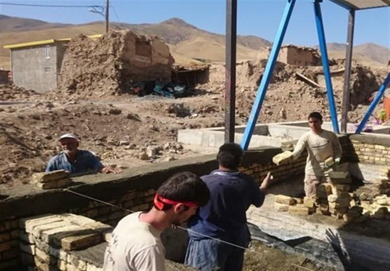 دانشجویان جهادی دانشگاه علامه برای مردم روستای محروم لرستان مدرسه میسازند