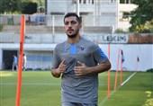 بازیکنان ترابزوناسپور، مجید حسینی را تنها نگذاشتند + عکس
