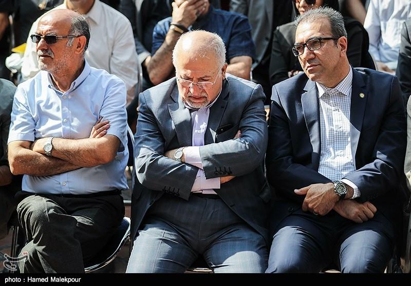 محمدجواد حقشناس عضو شورای شهر تهران در مراسم تشییع پیکر مرحوم داریوش اسدزاده