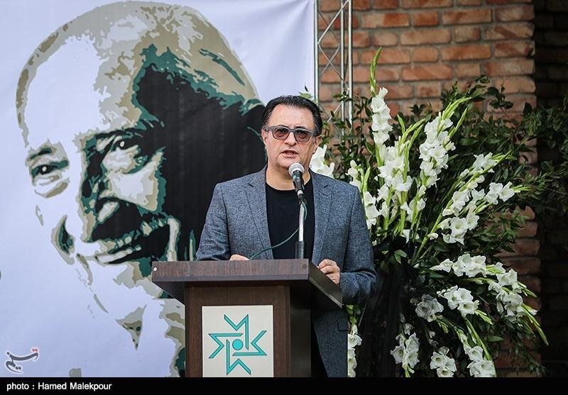 سخنرانی علی دهکردی در مراسم تشییع پیکر مرحوم داریوش اسدزاده