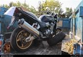 تهران| موتورسیکلت 600 میلیون تومانی توقیف شد+ تصاویر