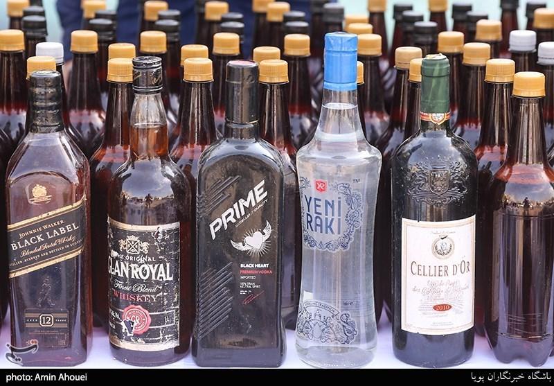 کشف 1700 لیتر مشروبات الکلی در قشم
