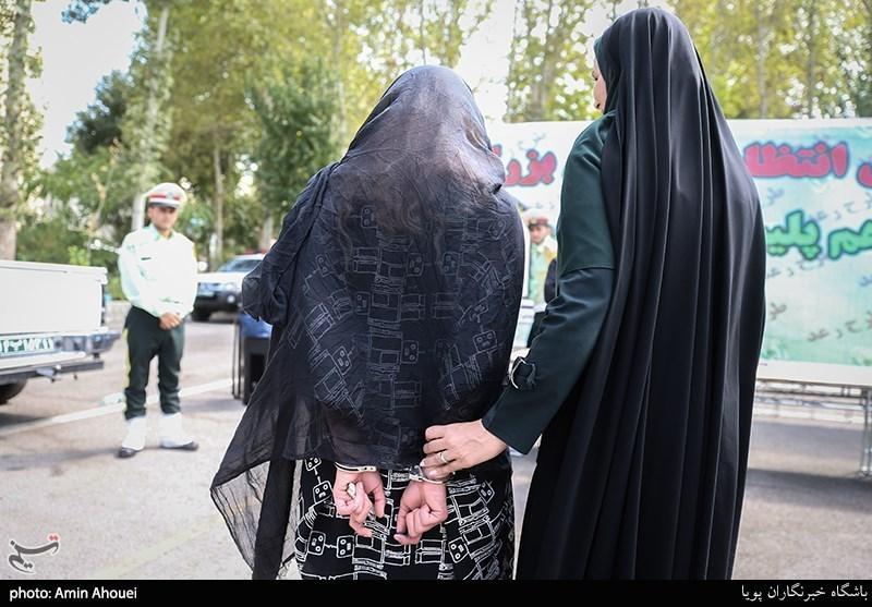 تهران| بازداشت زن جوان اغتشاشگر با سوابق امنیتی گسترده