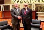 دیدار وزیر خارجه لیبی با ظریف