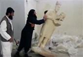 دستگیری یکی از داعشیهای عامل تخریب آثار باستانی موزه موصل