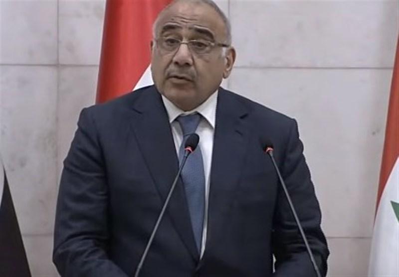 عبدالمهدی: به مطالبات مشروع معترضان پاسخ میدهیم/ برکناری یکهزار کارمند عراقی به جرم فساد