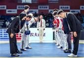 مسابقات تیمی هنرهای رزمی| همگروهی نمایندگان ایران با کرهجنوبی و چین تایپه