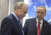 گفتگوی تلفنی پوتین و اردوغان درباره تحولات سوریه / دعوت پوتین از اردوغان برای سفر به روسیه