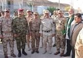 دیدار مسئولان مرزبانی ایران و عراق در مرز خسروی