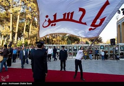 اجلاس بین المللی پیرغلامان یزد/ استقبال از پیرغلامان حسینی