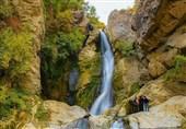 اوج زیبایی طبیعت در آبشار آرام بخش شلماش +تصاویر