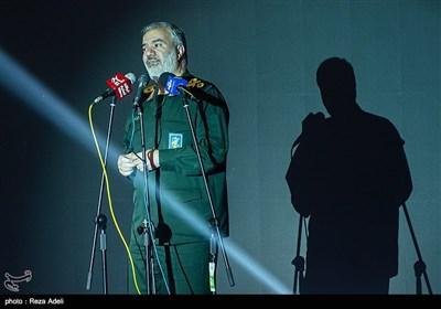 سخنرانی سردار دریادار پاسدار علی فدوی در سومین جشنواره سراسری فرهنگی ورزشی شمیم خانواده
