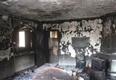 تهران| خسارت سنگین آتش به یک منزل مسکونی + تصاویر
