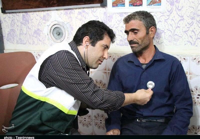 تیم پزشکی بسیج به منطقه «رودبار»کوهدشتاعزام شد