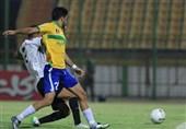 لیگ برتر فوتبال| صنعت نفت پیروز یک نیمهای دیدار برابر شاهین