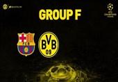 طعنه هواداران دورتموند به بارسلونا پس از همگروهی دو تیم در لیگ قهرمانان + عکس