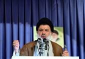 """امام جمعه خرمآباد: مردم ایران هرگز دست از """"نظام، رهبری و انقلاب"""" برنمیدارند / قدردانی از بصیرت مردم"""