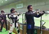 جام جهانی تیراندازی| پایان رقابت ملیپوشان کشورمان در تفنگ بادی آقایان