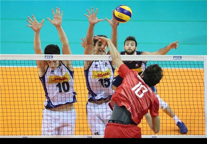 والیبال نوجوانان جهان| ایران حریفان خود را شناخت