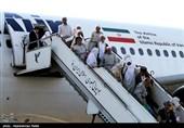 نخستین گروه حجاج آذربایجان شرقی و اردبیل وارد فرودگاه تبریز شدند